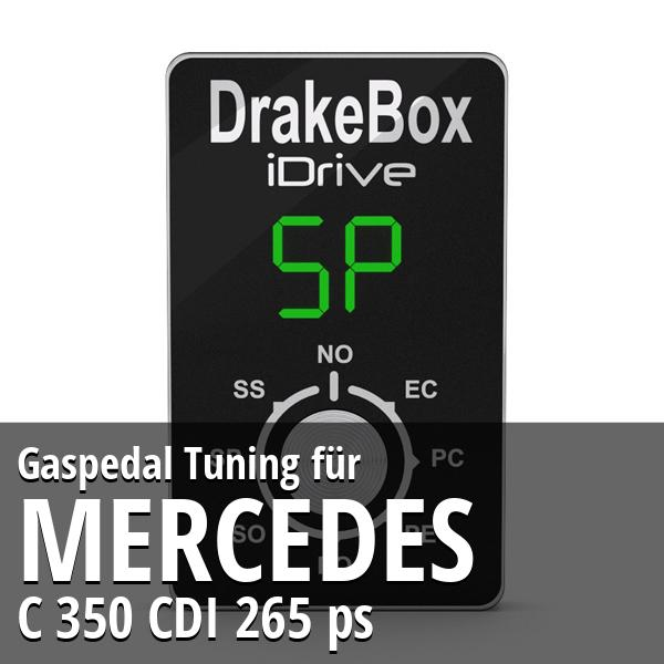 Gaspedal Tuning Mercedes C 350 CDI 265 ps