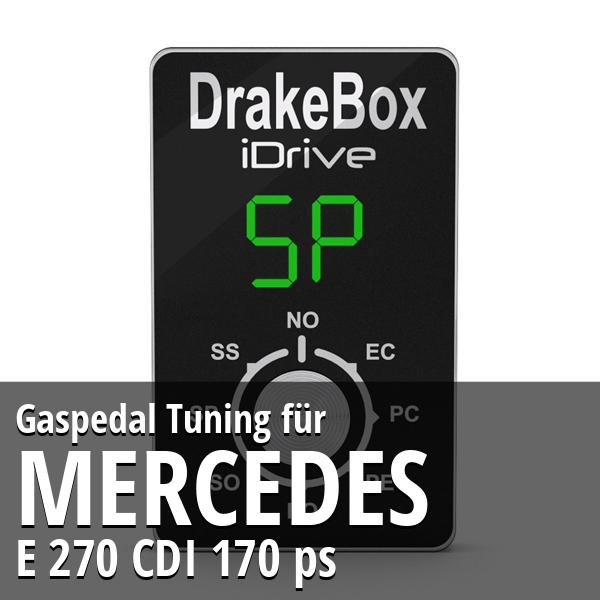 Gaspedal Tuning Mercedes E 270 CDI 170 ps
