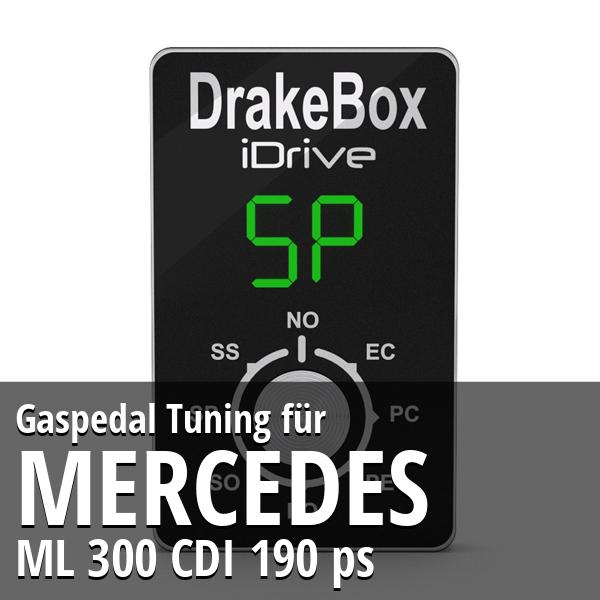 Gaspedal Tuning Mercedes ML 300 CDI 190 ps
