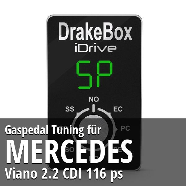 Gaspedal Tuning Mercedes Viano 2.2 CDI 116 ps