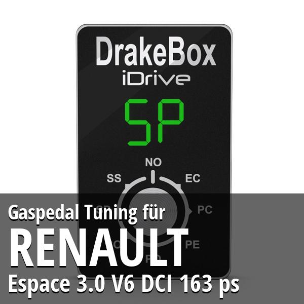 Gaspedal Tuning Renault Espace 3.0 V6 DCI 163 ps