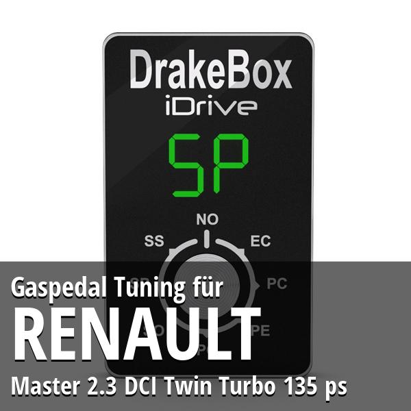 Gaspedal Tuning Renault Master 2.3 DCI Twin Turbo 135 ps