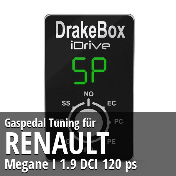 Gaspedal Tuning Renault Megane I 1.9 DCI 120 ps