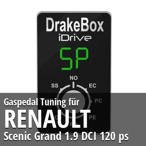 Gaspedal Tuning Renault Scenic Grand 1.9 DCI 120 ps