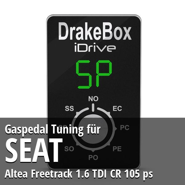 Gaspedal Tuning Seat Altea Freetrack 1.6 TDI CR 105 ps