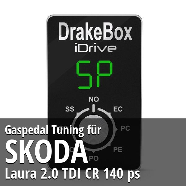 Gaspedal Tuning Skoda Laura 2.0 TDI CR 140 ps