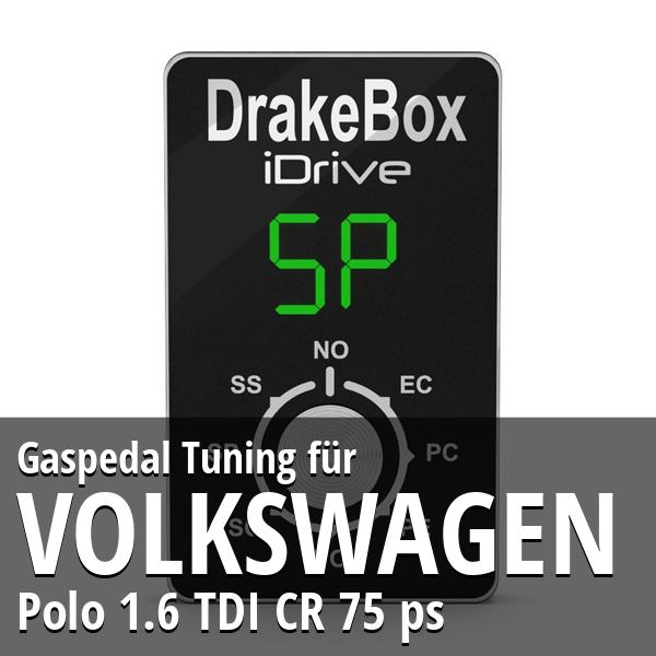 Gaspedal Tuning Volkswagen Polo 1.6 TDI CR 75 ps