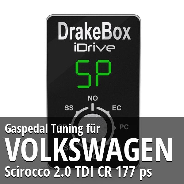 Gaspedal Tuning Volkswagen Scirocco 2.0 TDI CR 177 ps