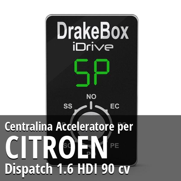 Centralina Citroen Dispatch 1.6 HDI 90 cv Acceleratore