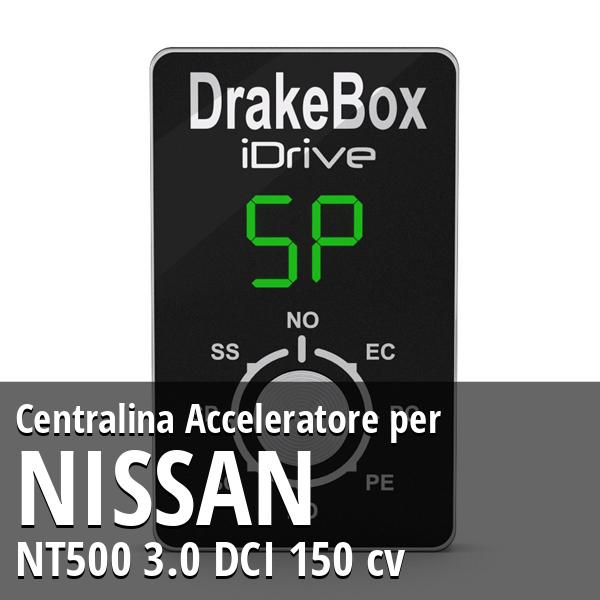 Centralina Nissan NT500 3.0 DCI 150 cv Acceleratore