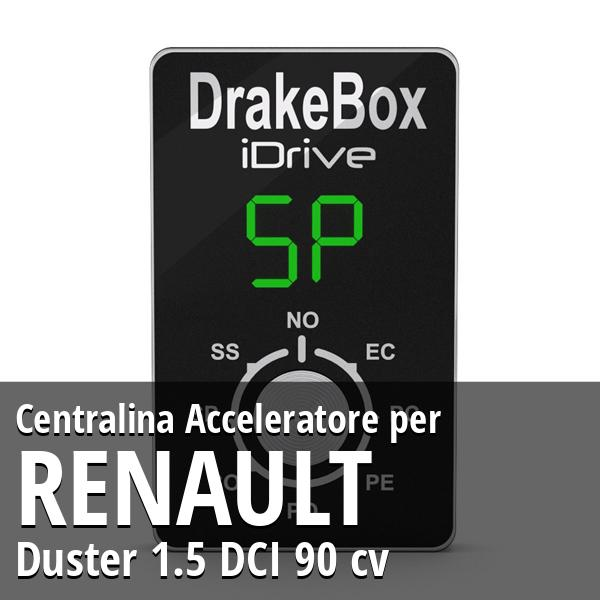 Centralina Renault Duster 1.5 DCI 90 cv Acceleratore
