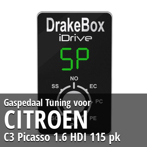 Gaspedaal Tuning Citroen C3 Picasso 1.6 HDI 115 pk