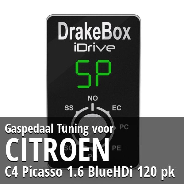 Gaspedaal Tuning Citroen C4 Picasso 1.6 BlueHDi 120 pk