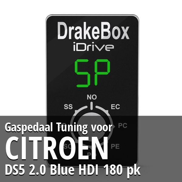 Gaspedaal Tuning Citroen DS5 2.0 Blue HDI 180 pk