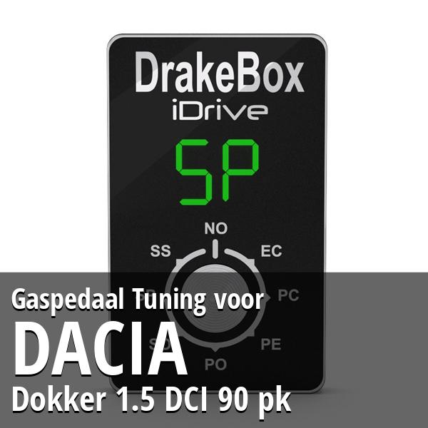 Gaspedaal Tuning Dacia Dokker 1.5 DCI 90 pk