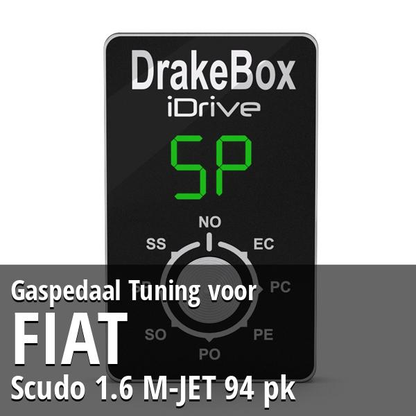 Gaspedaal Tuning Fiat Scudo 1.6 M-JET 94 pk