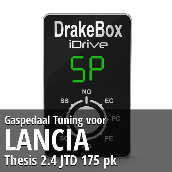 Gaspedaal Tuning Lancia Thesis 2.4 JTD 175 pk