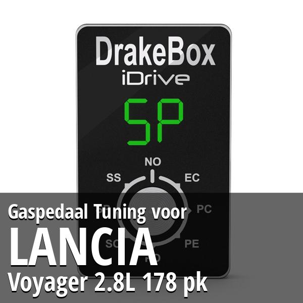 Gaspedaal Tuning Lancia Voyager 2.8L 178 pk