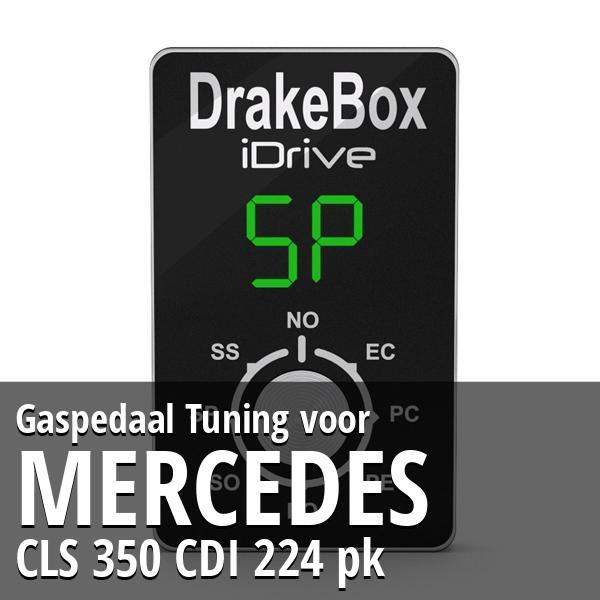 Gaspedaal Tuning Mercedes CLS 350 CDI 224 pk