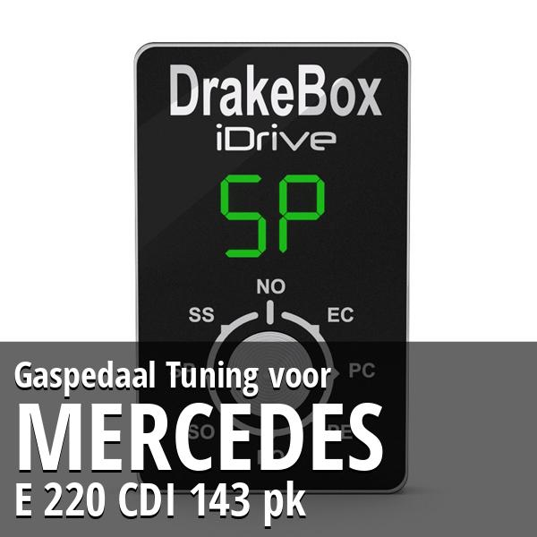 Gaspedaal Tuning Mercedes E 220 CDI 143 pk