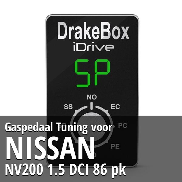 Gaspedaal Tuning Nissan NV200 1.5 DCI 86 pk