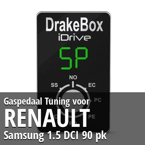 Gaspedaal Tuning Renault Samsung 1.5 DCI 90 pk