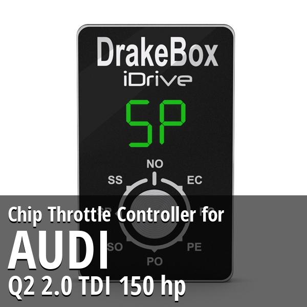 Chip Audi Q2 2.0 TDI 150 hp Throttle Controller