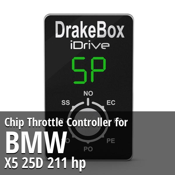 Chip Bmw X5 25D 211 hp Throttle Controller