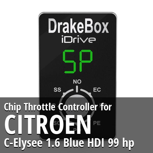 Chip Citroen C-Elysee 1.6 Blue HDI 99 hp Throttle Controller