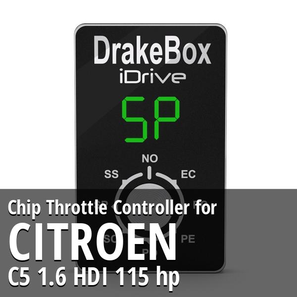 Chip Citroen C5 1.6 HDI 115 hp Throttle Controller