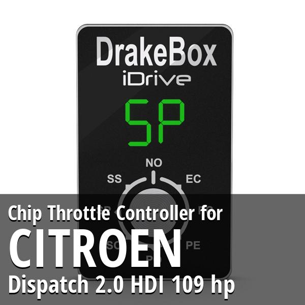 Chip Citroen Dispatch 2.0 HDI 109 hp Throttle Controller