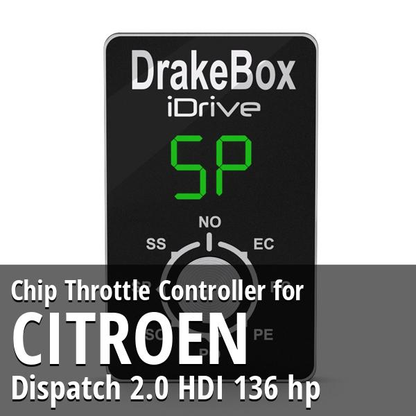 Chip Citroen Dispatch 2.0 HDI 136 hp Throttle Controller