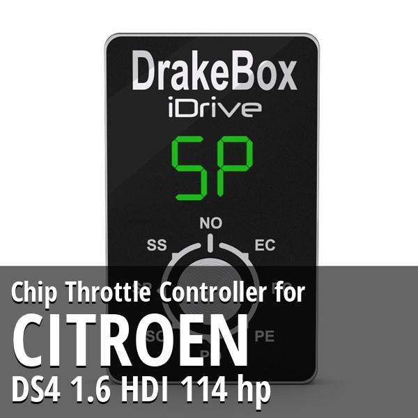 Chip Citroen DS4 1.6 HDI 114 hp Throttle Controller