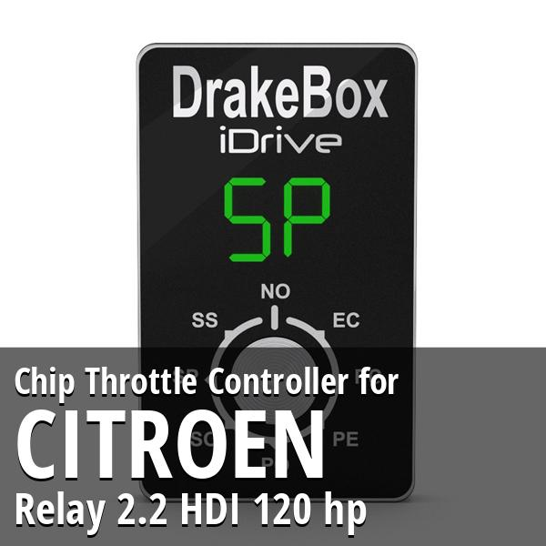 Chip Citroen Relay 2.2 HDI 120 hp Throttle Controller