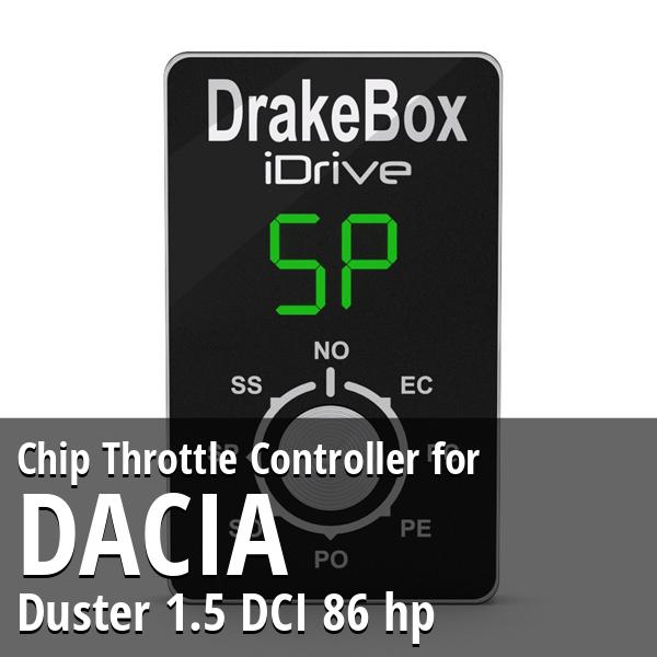 Chip Dacia Duster 1.5 DCI 86 hp Throttle Controller