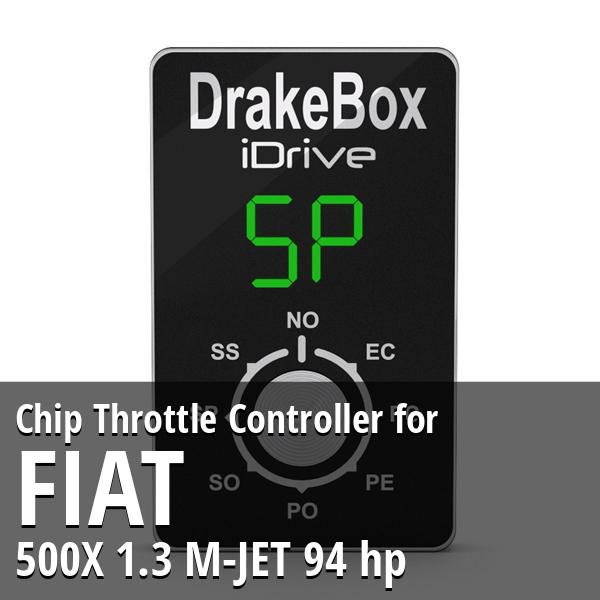 Chip Fiat 500X 1.3 M-JET 94 hp Throttle Controller
