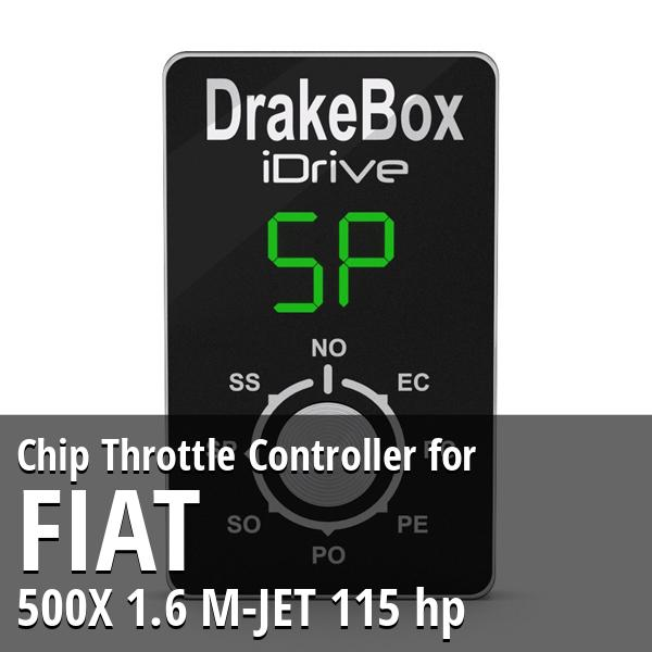 Chip Fiat 500X 1.6 M-JET 115 hp Throttle Controller