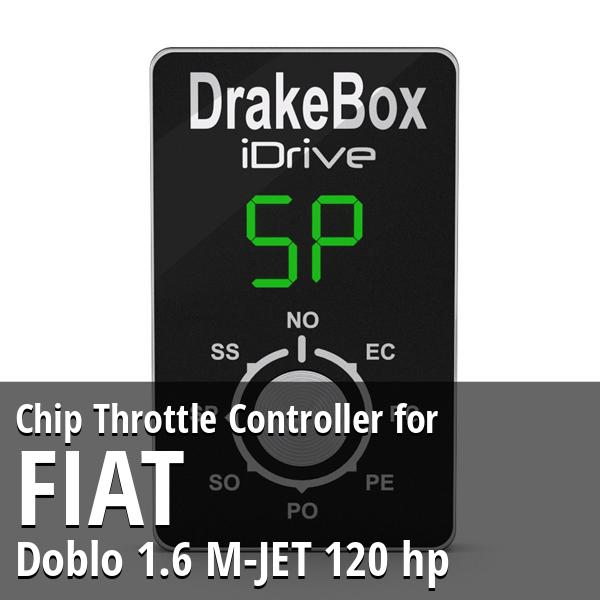 Chip Fiat Doblo 1.6 M-JET 120 hp Throttle Controller