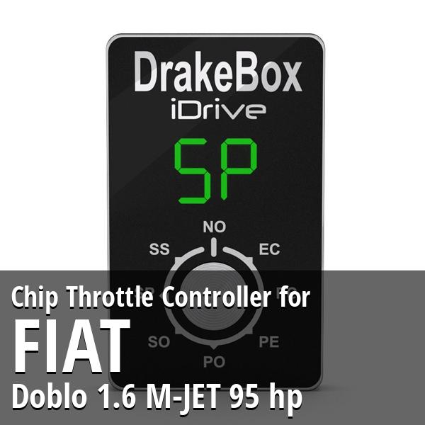 Chip Fiat Doblo 1.6 M-JET 95 hp Throttle Controller