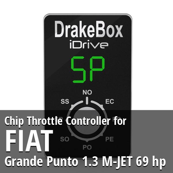Chip Fiat Grande Punto 1.3 M-JET 69 hp Throttle Controller