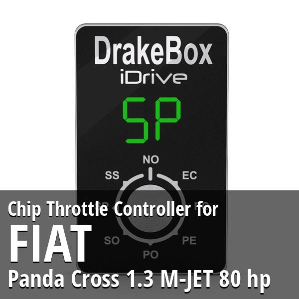 Chip Fiat Panda Cross 1.3 M-JET 80 hp Throttle Controller