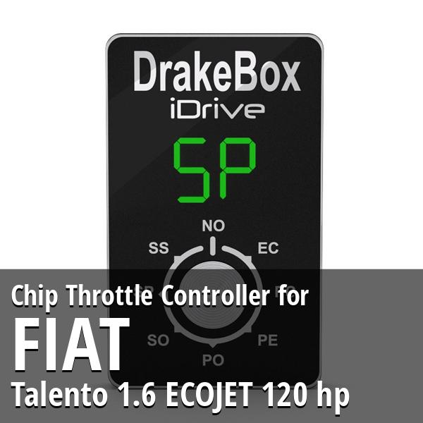 Chip Fiat Talento 1.6 ECOJET 120 hp Throttle Controller