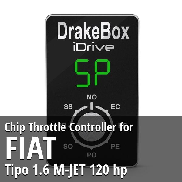 Chip Fiat Tipo 1.6 M-JET 120 hp Throttle Controller