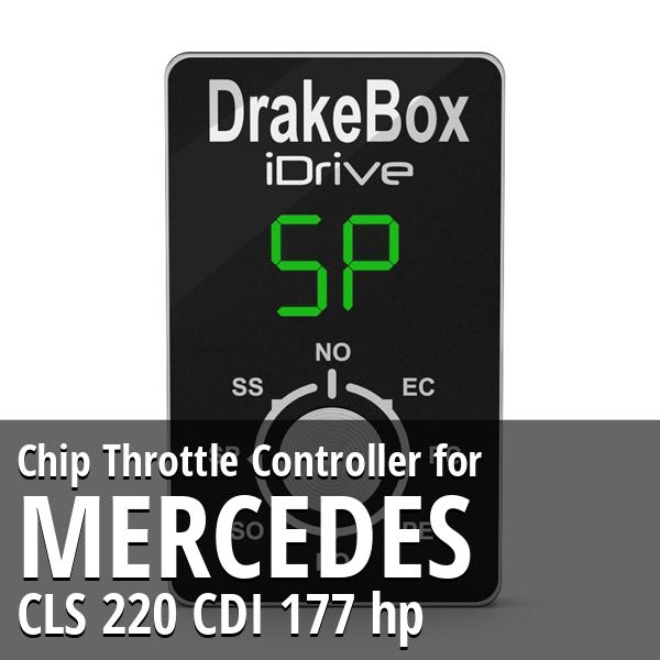 Chip Mercedes CLS 220 CDI 177 hp Throttle Controller