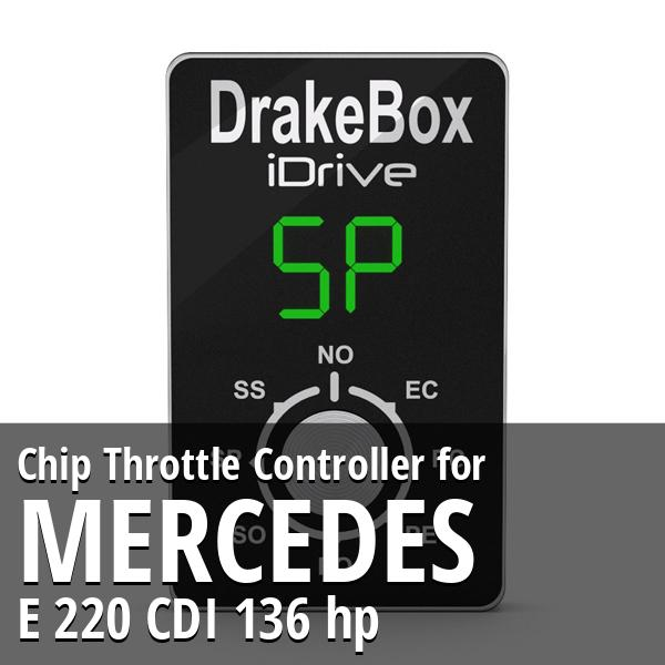 Chip Mercedes E 220 CDI 136 hp Throttle Controller