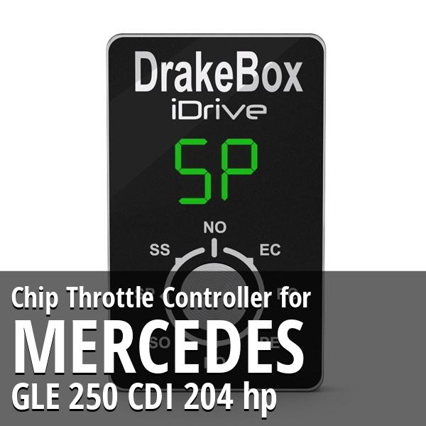 Chip Mercedes GLE 250 CDI 204 hp Throttle Controller