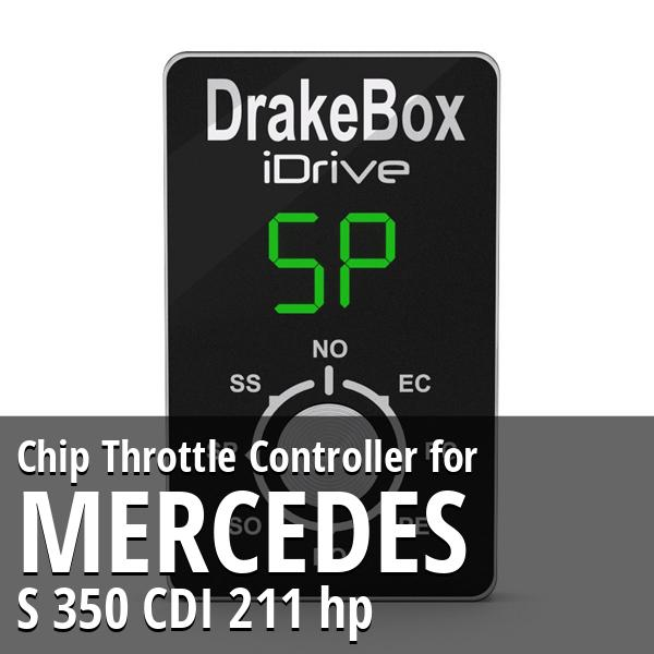Chip Mercedes S 350 CDI 211 hp Throttle Controller