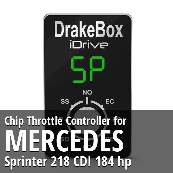 Chip Mercedes Sprinter 218 CDI 184 hp Throttle Controller