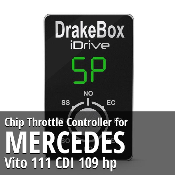 Chip Mercedes Vito 111 CDI 109 hp Throttle Controller