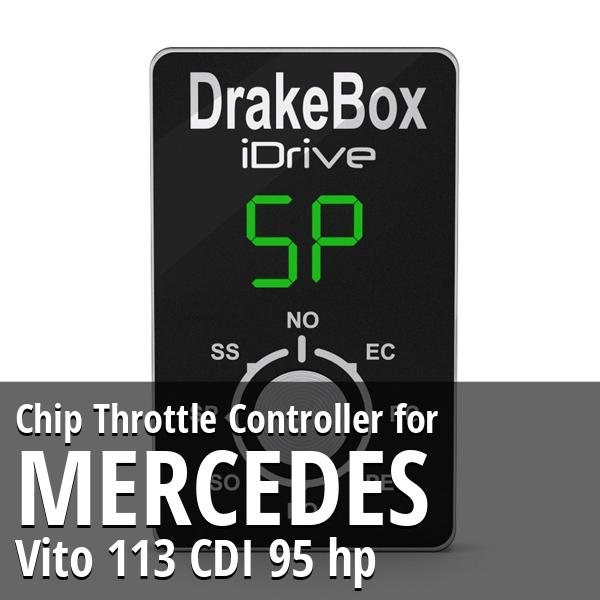 Chip Mercedes Vito 113 CDI 95 hp Throttle Controller
